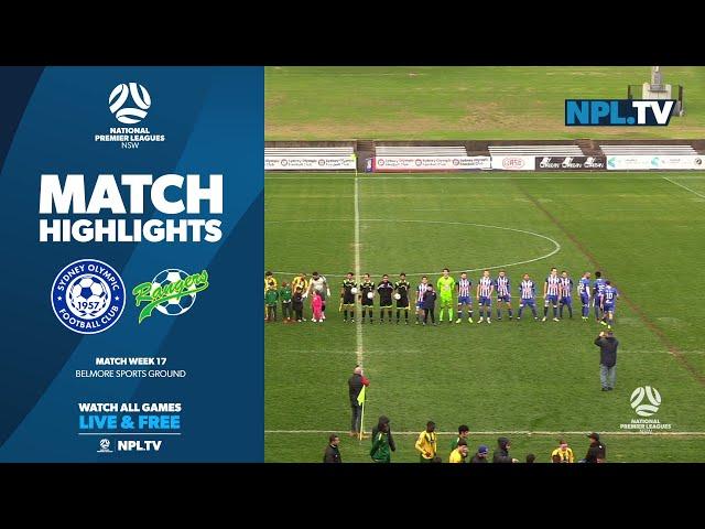 NPL NSW Men's Round 17 – Sydney Olympic v Mt Druitt Town Rangers