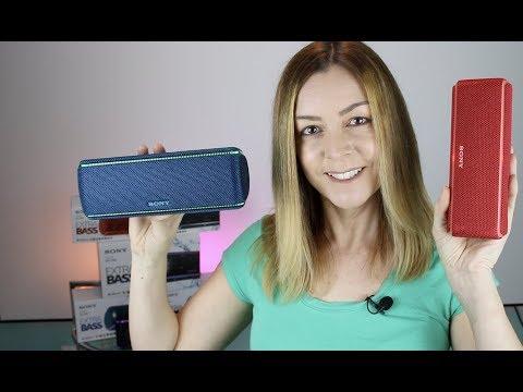 Sony Speakers SRS-XB21, SRS-XB31& SRS-XB41