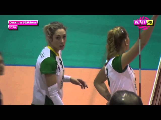 Orvieto vs SGM Rimini - 3° Set