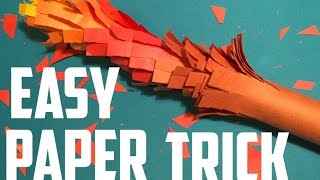Really Cool Paper Craft Magic Trick.