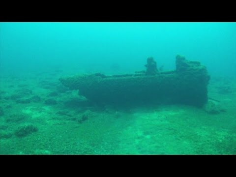 Divers Discover Lake Michigan Plane Wreck