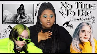 Gambar cover Billie Eilish - No Time To Die (Reaction)
