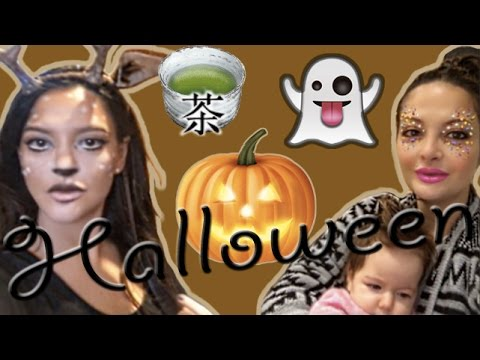 Living in Notting Hill, Japanese tea, cheap Halloween decorations!!!