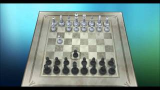 Chess Titans - How to win with 2 moves