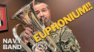 Why you should choose the euphonium!