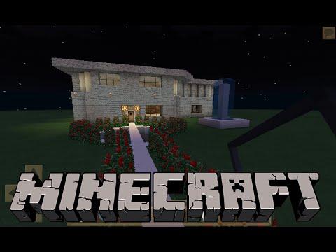 Super casa moderna minecraft pe mapa descarga for Casa moderna en minecraft pe 0 16 0