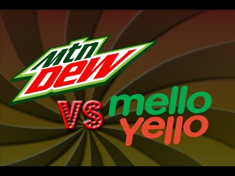 Mountain Dew VS Mello Yello(Blind Taste Test)