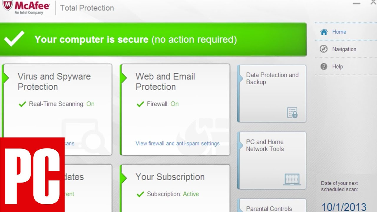 McAfee Total Protection 2014 Review