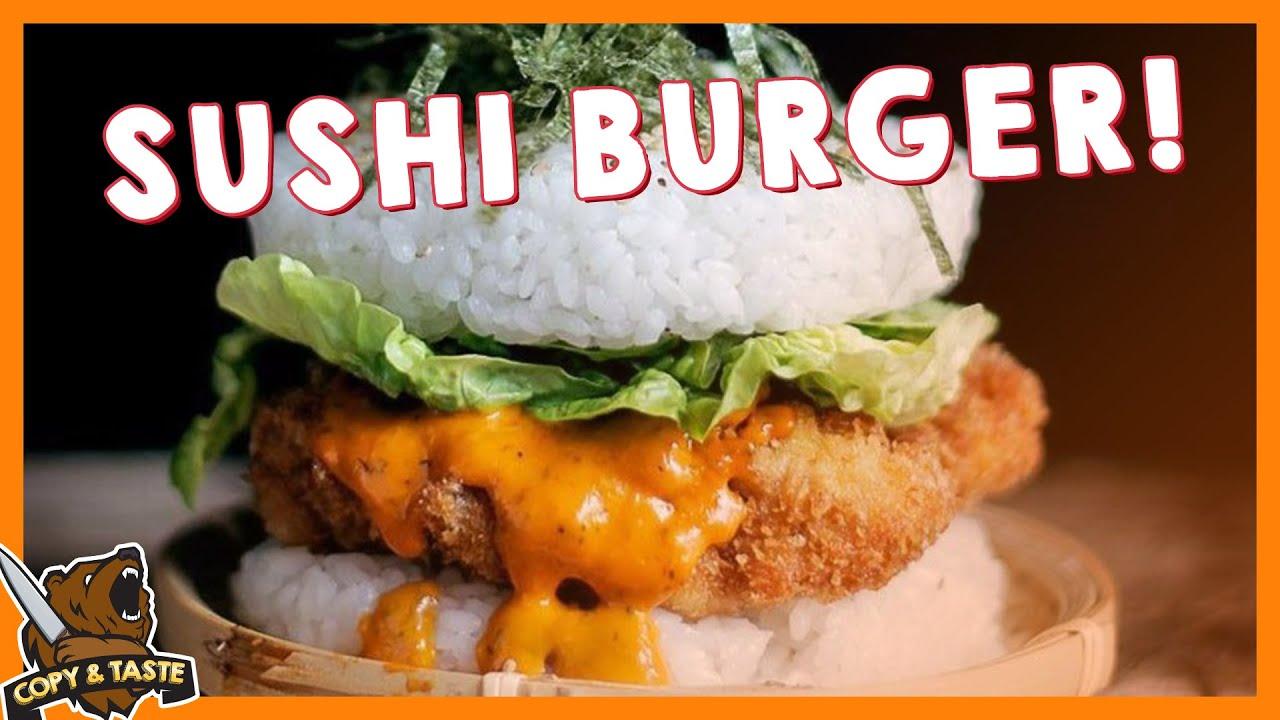 Der SUSHI BURGER! 🍣🍔 Copy & Taste