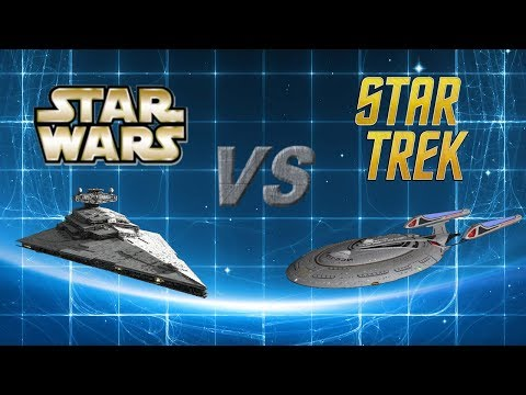 Star Wars Vs Star Trek: The Empire INVADES the FEDERATION!! Part 1 of 2