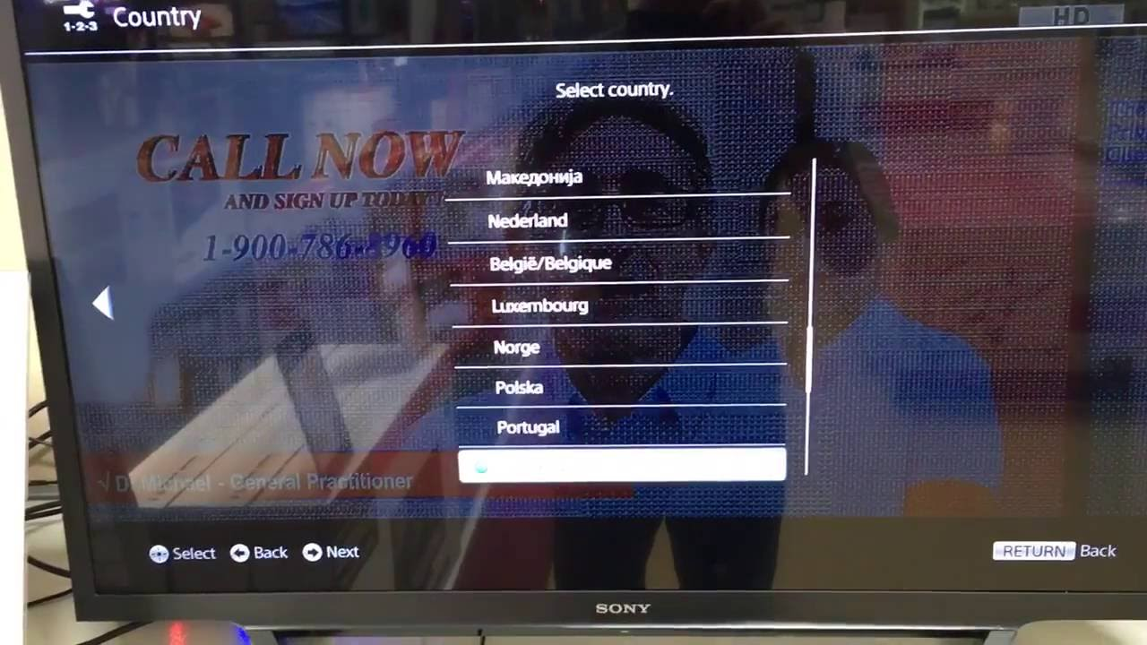 How to turn off the demo mode on Sony Bravia Tv