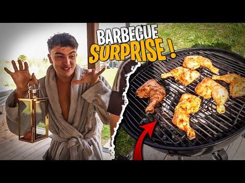 Barbecue avec la Team Croûton en vacances ! (c'était pas prévu, ils sont venus en surprise)