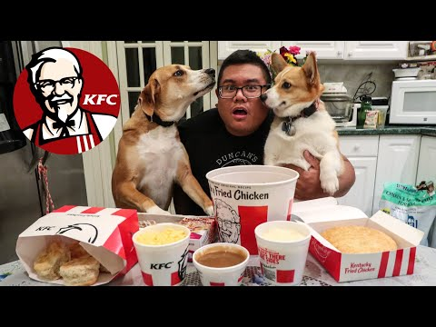 KFC Family Fill Up Meal Challenge