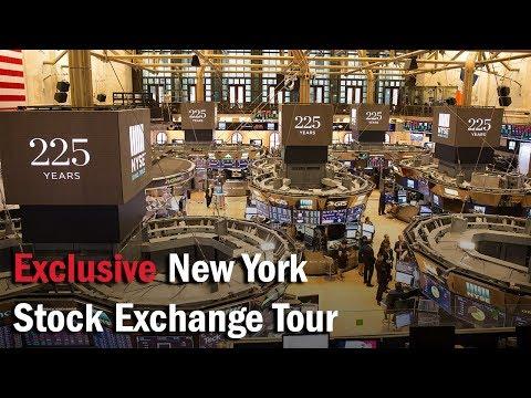 Exclusive New York Stock Exchange Tour