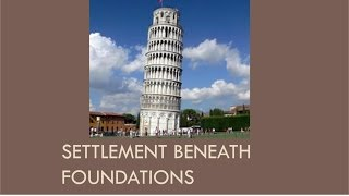 CEEN 341 - Lecture 18 - Settlement Beneath Footing