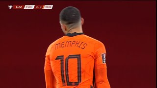 Memphis Depay vs Turkey AWAY 24 03 2021