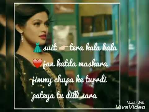 Song Suit Tera Kala Kala Lyrics