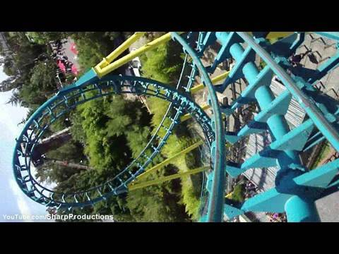 Boomerang (HD POV) Six Flags Discovery Kingdom