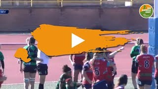 Liga Iberdrola de Rugby RESUMEN J10 - Sanse v Cocos