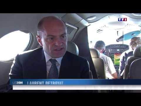 Private jet charter app - Lunajets  TF1 news night