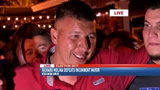 Richard Molina defeats incumbent mayor