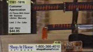 QVC HSN Katana Injury