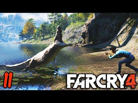 Far Cry 4: Funny Moments - HUNTING! - (Rare Honey Badge ...