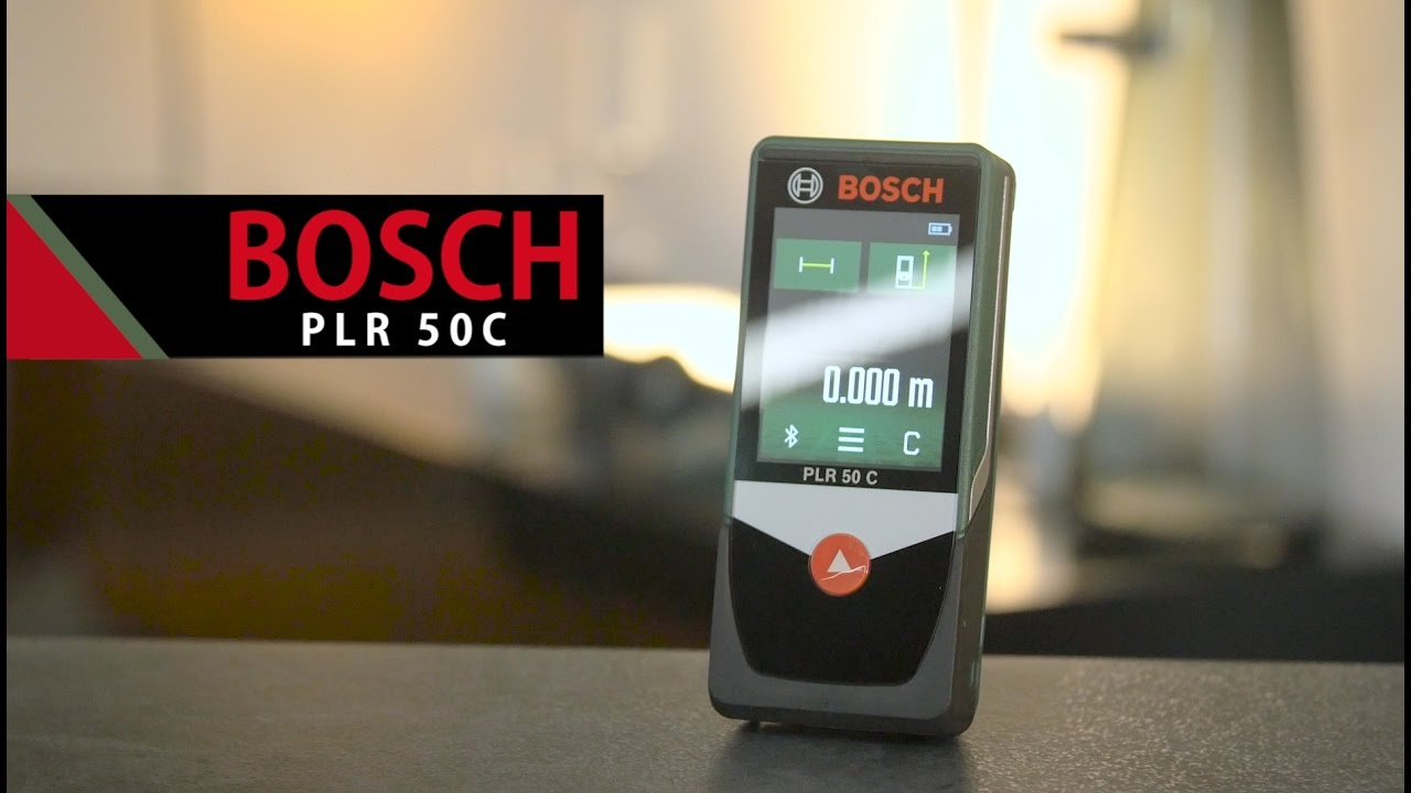 Bosch plr 50 c review laser measuring tool youtube