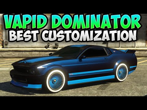 gta 5 vapid dominator best car customisation ep 11 bcc