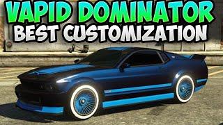 "GTA 5 - ""Vapid Dominator"" Best Car Customisation? ep. #11 (BCC)"