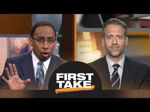 Stephen A. and Max react to LeBron James and Cavaliers sweeping Raptors   First Take   ESPN