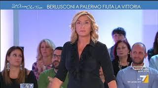 L'aria che tira - Berlusconi a Palermo fiuta la vittoria (Puntata 02/11/2017)