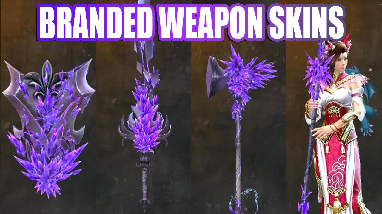 Branded Weapon Skins ● Guild Wars 2