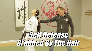 Video Women's Self Defense Techniques - Grabbed By The Ponytail download MP3, 3GP, MP4, WEBM, AVI, FLV September 2019