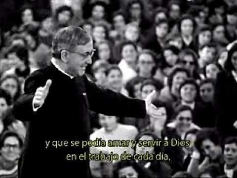 Biografía de San Josemaría Escrivá, fundador del Opus Dei