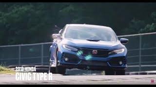 Honda Civic Type R at Lightning Lap 2018