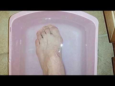 Relieve Foot Pain With Epsom Salt Foot Bath