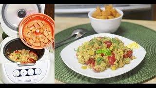 Nutritious Bulgar Grain Salad With Sweet Potato As A Healthy Dessert