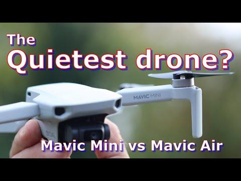 DJI Mavic Mini Sound Test: DJI's Quietest Drone?