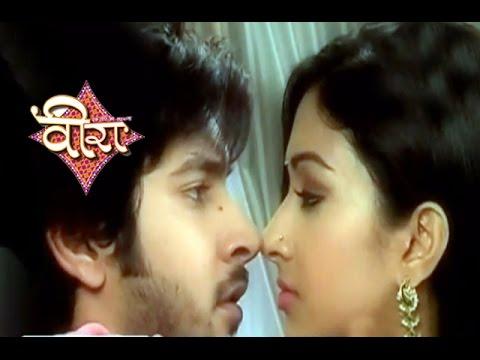 Ek Veer Ki Ardas Veera 11th February 2015 Episode | Ranvi Romances Gunjan  on Valentines day