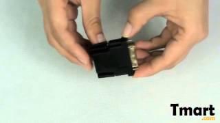 1.98 DVI(24+5) Male to HDMI Female Converter Adapter-C02047