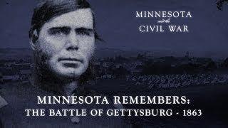 minnesota remembers battle of gettysburg 1863
