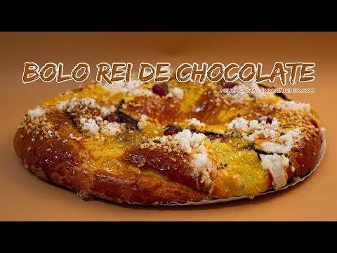 Bolo Rei de Chocolate