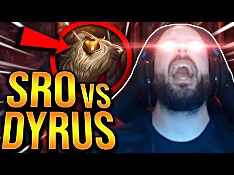 I MADE HIM RAGE QUIT?!? SRO VS DYRUS! - Preseason To Challenger   League of Legends