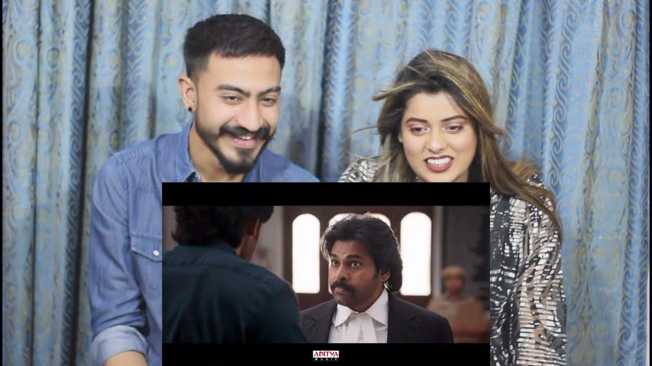 Pak Reaction To | Vakeel Saab Trailer - Pawan Kalyan | Sriram Venu|Thaman S | #VakeelSaabOnApril9th