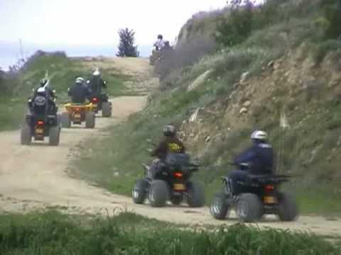 Quad Biking in Cyprus near Larnaca - Extended version