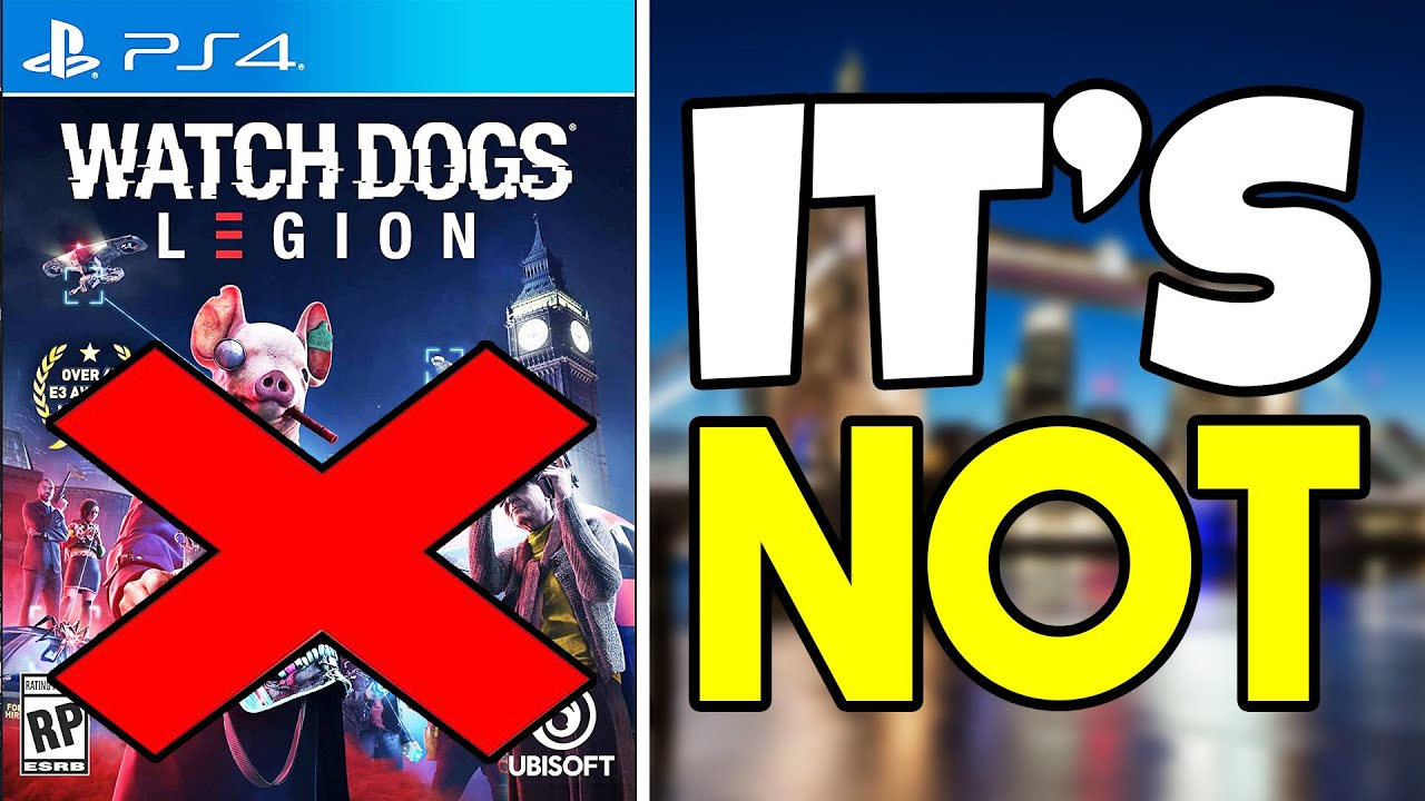 Watch Dogs Legion It S Not What You Think It Is Youtube