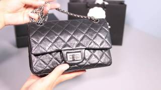 What fits in my Chanel Reissue 224 and Louis Vuitton Pochette