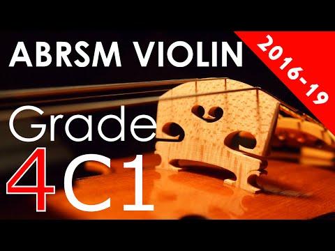 2016 - 2019 Grade 4 C:1 C1 ABRSM Violin Exam - Take Five, arr. Huws Jones - Paul Desmond