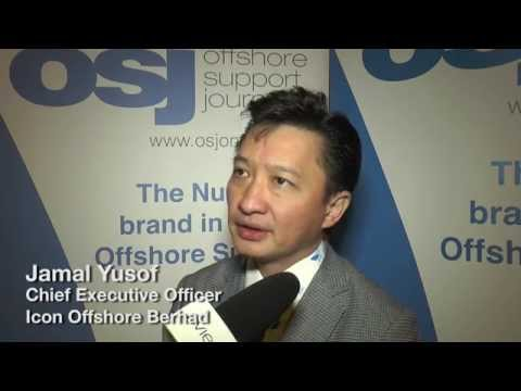 Jamal Yusof OSV Malaysia speaking at the 2014 Asian Offshore Support Journal Conference 2014